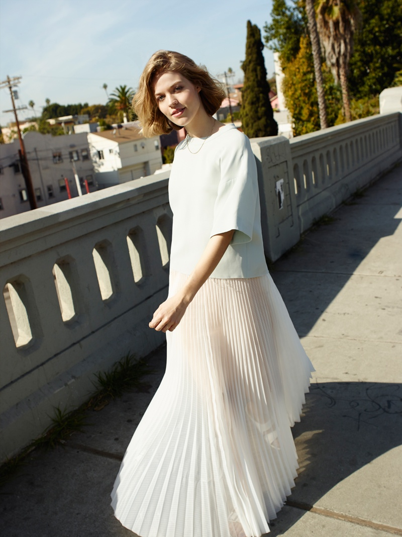 asos white spring 2014 collection2 ASOS Features Relaxed and Dreamy Styles for Its White Collection