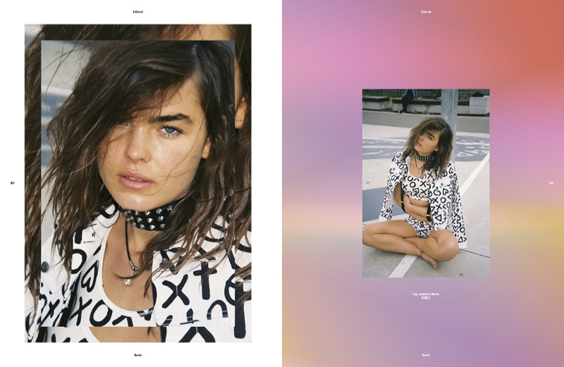 Bambi Northwood-Blyth Hits the Streets for SRC783 Magazine