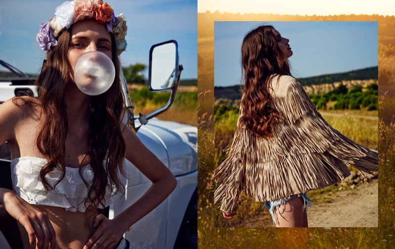 bohemian style all ahmet3 Margo & Vanessa Wear Bohemian Style for All Magazine by Ahmet Unver