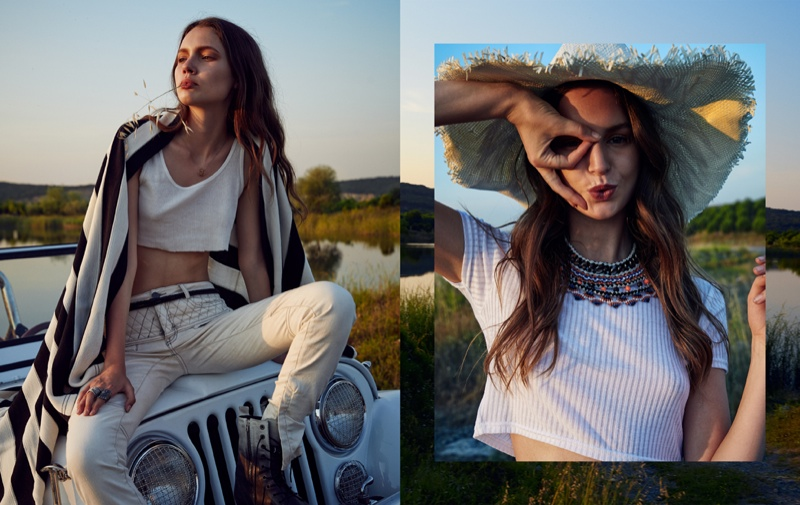 bohemian style all ahmet5 Margo & Vanessa Wear Bohemian Style for All Magazine by Ahmet Unver