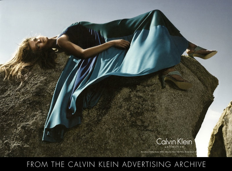 Natalia Vodianova for Calvin Klein Collection Spring 2005 Campaign by Steven Meisel