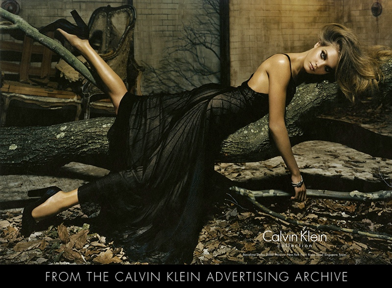 calvin klein fall 2004 ad TBT | The Best of Natalia Vodianovas Calvin Klein Ads