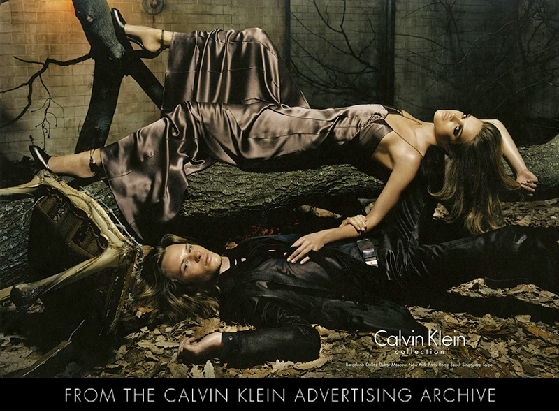 Natalia Vodianova for Calvin Klein Collection Fall 2004 Campaign by Steven Meisel