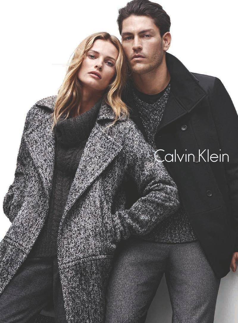 Calvin Klein white label Fall 2014 Campaign with Edita Vilkevicute by Daniel Jackson