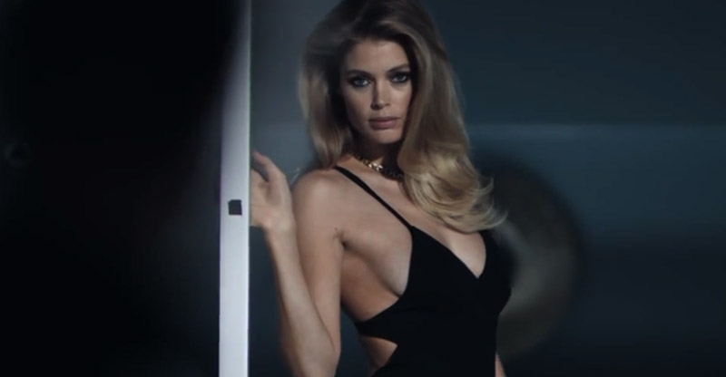 calvin klein reveal commerical1 See Doutzen Kroes Steamy Calvin Klein Reveal Fragrance Ad