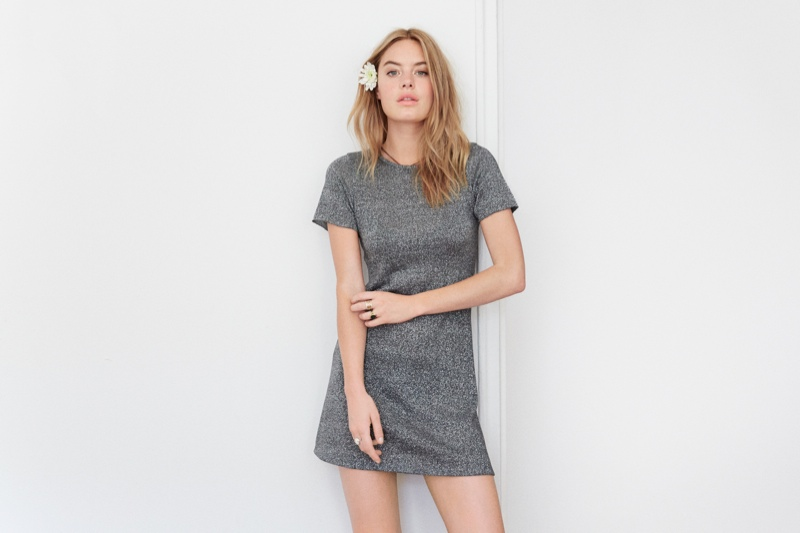camille rowe reformation collection8 Camille Rowe Models & Designs for Reformation Collaboration