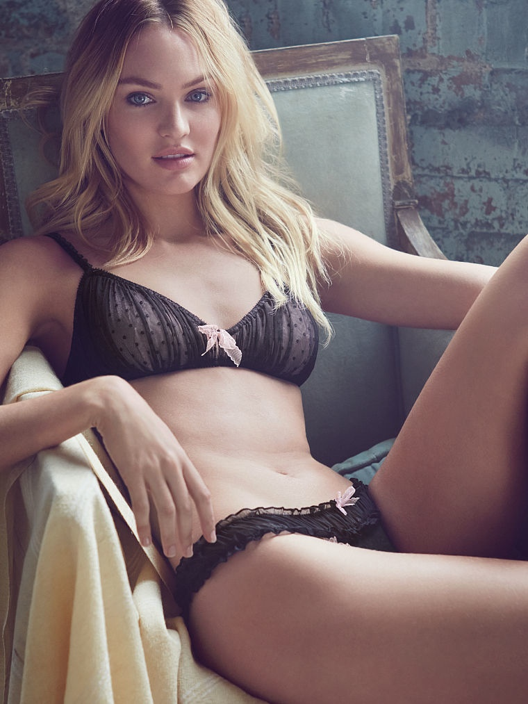 candice swanepoel sexy1 Sweet & Light: Candice Swanepoel Enchants for Victoria's Secret Images