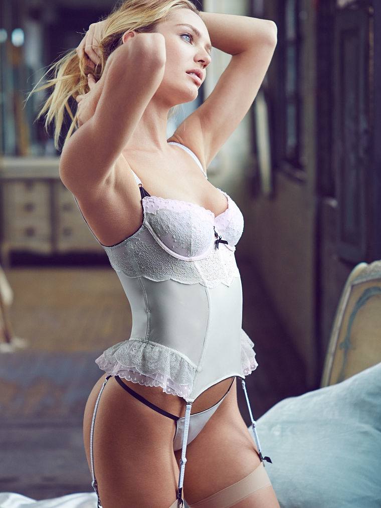 candice swanepoel sexy14 Sweet & Light: Candice Swanepoel Enchants for Victoria's Secret Images