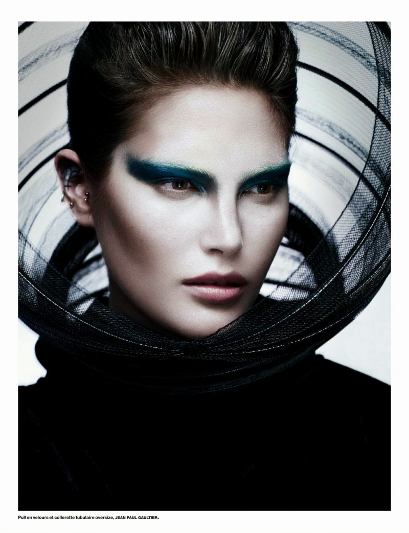 cat numero001 800x1042 Catherine McNeil Wears Futuristic Style for Numéro by Benjamin Lennox