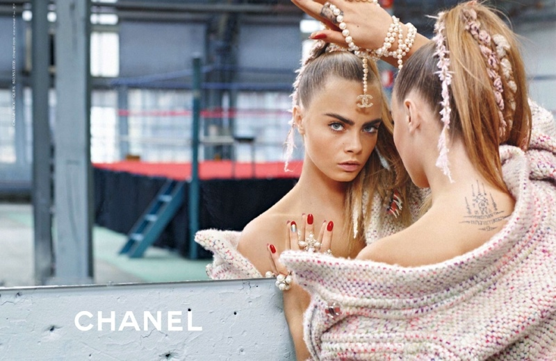Chanel Goes Boxing for Fall 2014 Campaign with Cara Delevingne