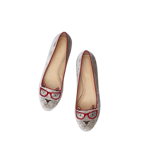 charlotte olympia kitty co shoe colelction2 Hey Kitty! Charlotte Olympia Launches Kitty & Co Collection Featuring Cat Flats