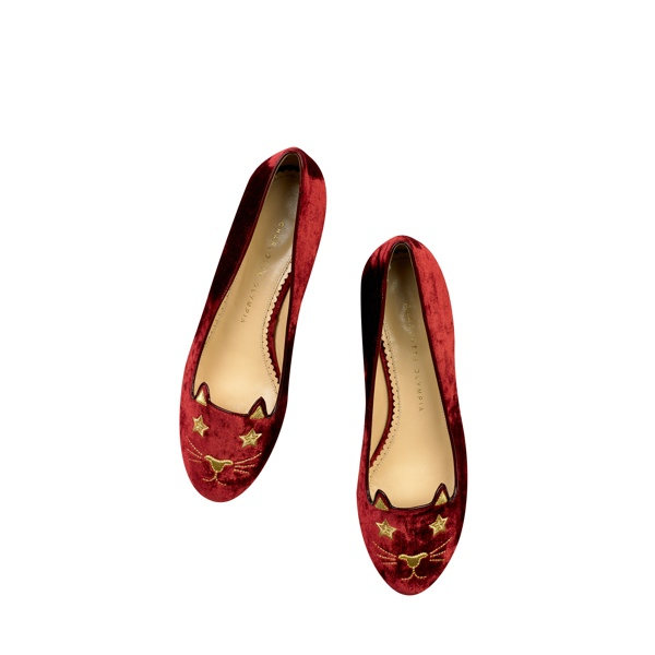 charlotte olympia kitty co shoe colelction6 Hey Kitty! Charlotte Olympia Launches Kitty & Co Collection Featuring Cat Flats