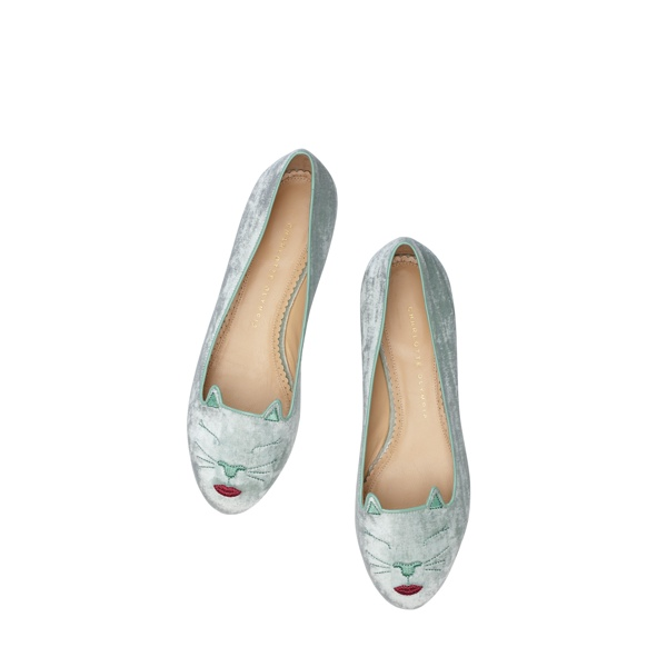 charlotte olympia kitty co shoe colelction7 Hey Kitty! Charlotte Olympia Launches Kitty & Co Collection Featuring Cat Flats