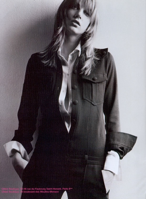 chloe fall 2003 campaign1 TBT | Chloes Hippie Chic Fall 2003 Ads with Angela Lindvall