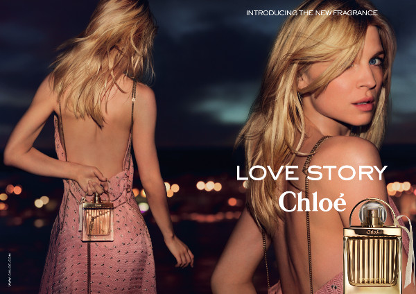 "Clemence Poesey Fronts Chloe ""Love Story"" Fragrance Ad"