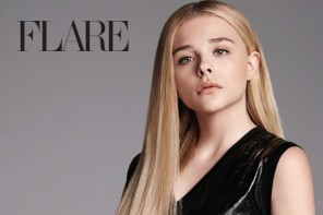 Chloe Grace Moretz Stars in FLARE, Talks Dating & Relationship Fears