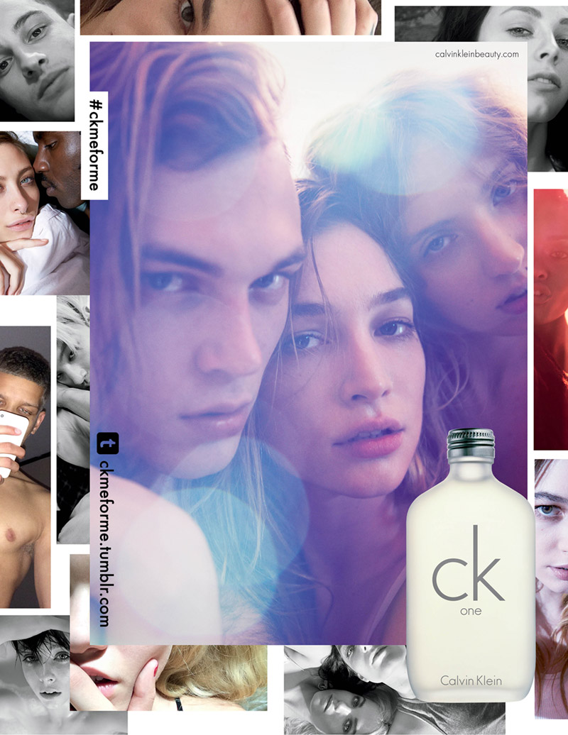 ck one 20th anniversary campaign ck Ones New Fragrance Campaign is Selfie Obsessed