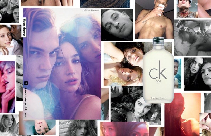 ck one 20th anniversary campaign1 800x517 ck Ones New Fragrance Campaign is Selfie Obsessed