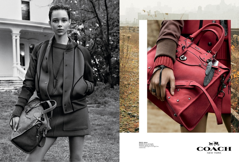 coach 2014 fall winter campaign1 Coach Enlists Steven Meisel to Shoot Fall 2014 Campaign