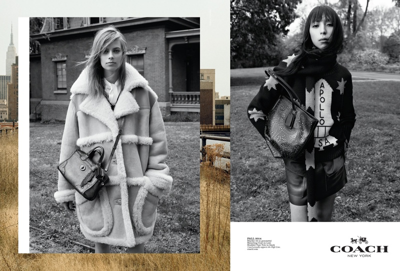 coach 2014 fall winter campaign2 Coach Enlists Steven Meisel to Shoot Fall 2014 Campaign