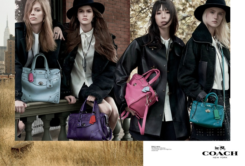 An image from Coach's fall-winter 2014 campaign
