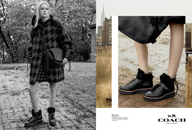coach 2014 fall winter campaign4 Coach Enlists Steven Meisel to Shoot Fall 2014 Campaign