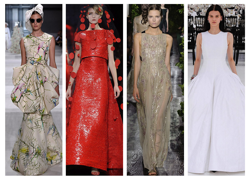 15 Most Beautiful Couture Gowns of Fall 2014