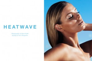 "FGR Exclusive | Danielle Knudson by Ryan Fujiki in ""Heatwave"""