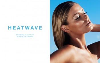 "FGR Exclusive | Danielle Knudson by Ryan Fujiki in ""Heatwave"""