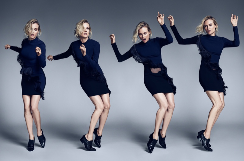 diane kruger mytheresa shoot1 Diane Kruger is the Latest Star of MyTheresa.coms Women Series