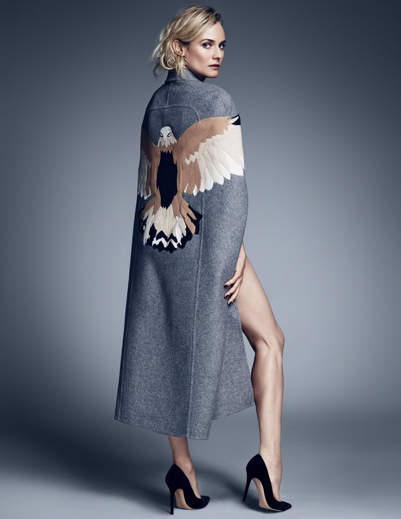 diane kruger mytheresa shoot2 Diane Kruger is the Latest Star of MyTheresa.coms Women Series