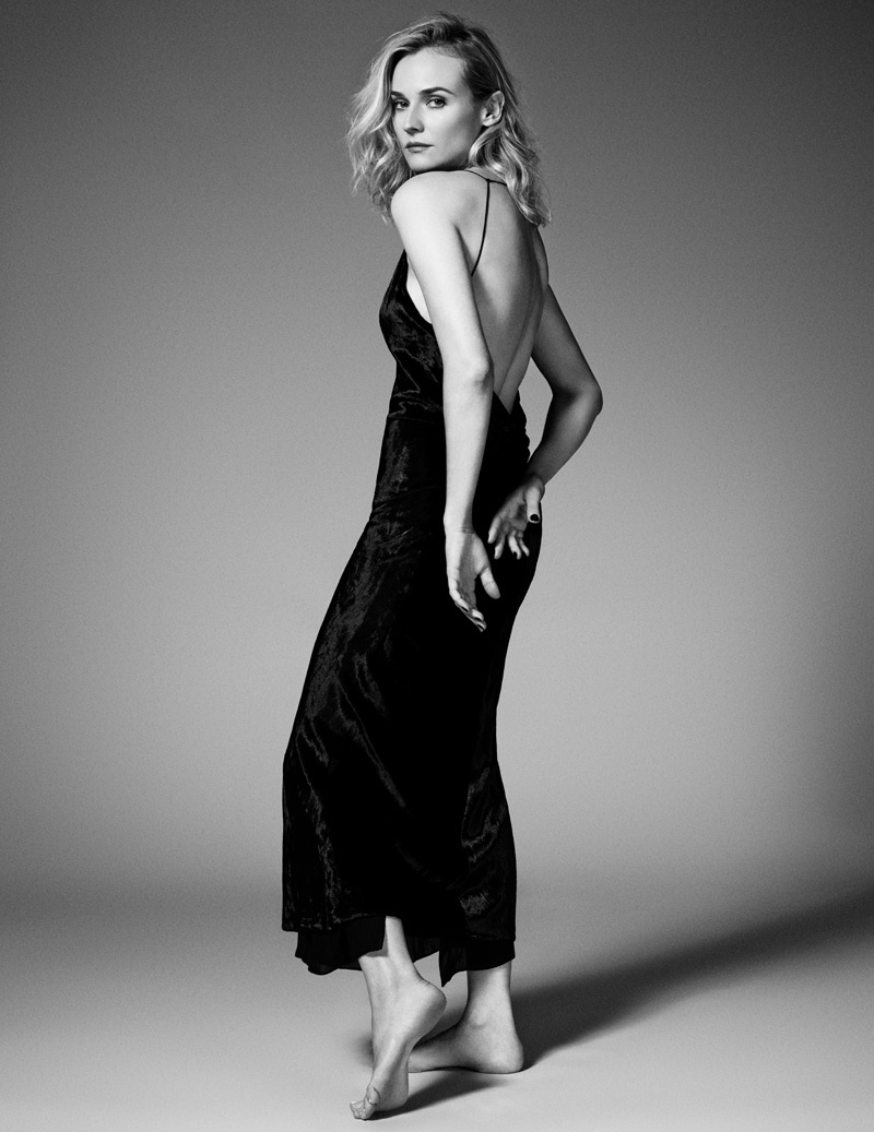 diane kruger mytheresa shoot5 Diane Kruger is the Latest Star of MyTheresa.coms Women Series