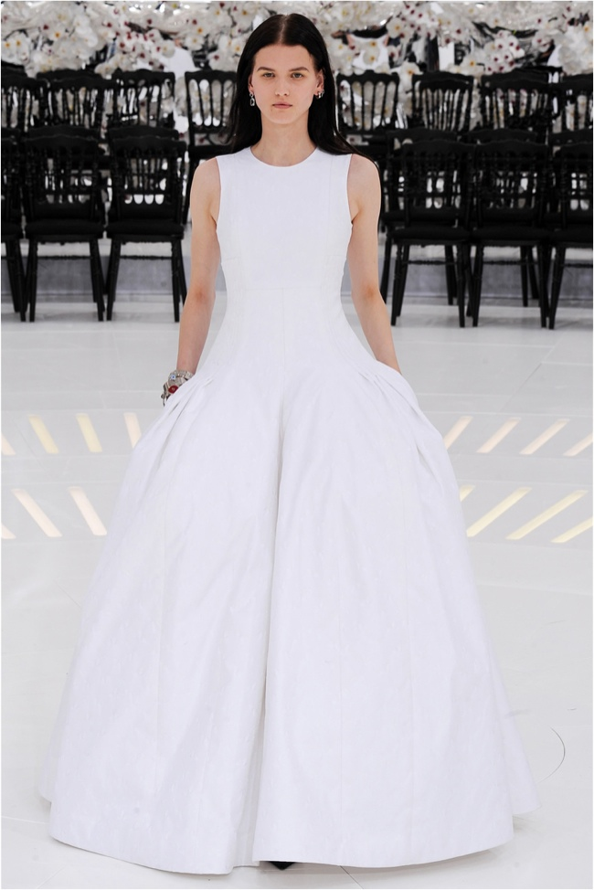 dior 2014 fall haute couture show photos5 15 Most Beautiful Couture Gowns of Fall 2014