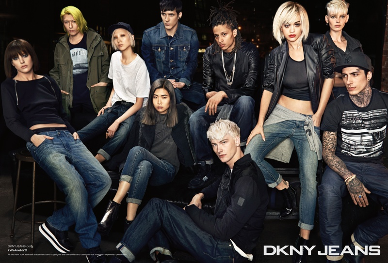dkny 2014 fall winter campaign1 DKNY Launches New York Centric Fall Campaign Helmed by Rita Ora