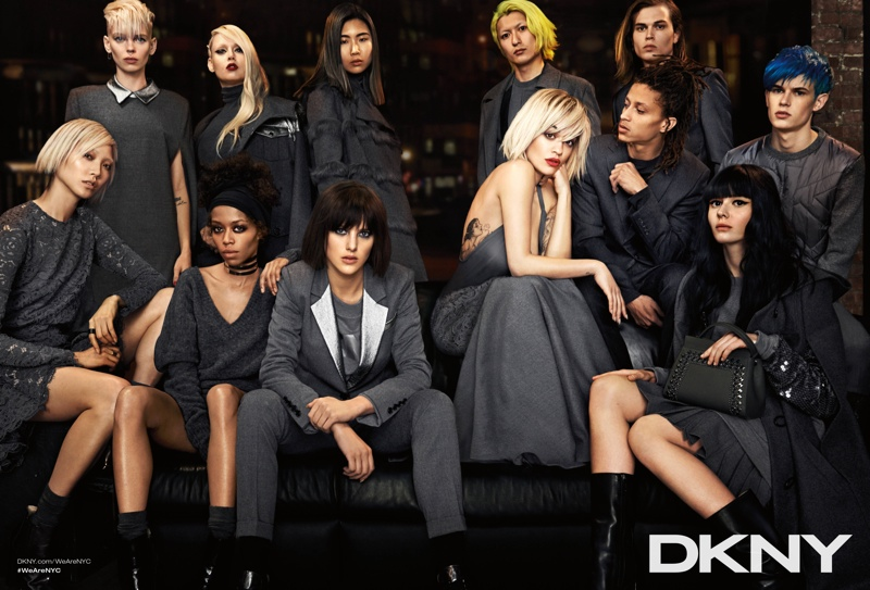 dkny 2014 fall winter campaign3 DKNY Launches New York Centric Fall Campaign Helmed by Rita Ora