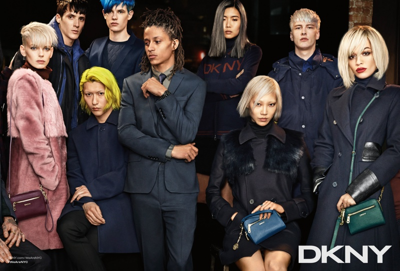 dkny 2014 fall winter campaign4 DKNY Launches New York Centric Fall Campaign Helmed by Rita Ora
