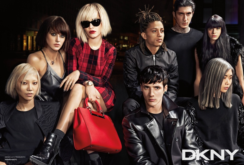 dkny 2014 fall winter campaign5 DKNY Launches New York Centric Fall Campaign Helmed by Rita Ora