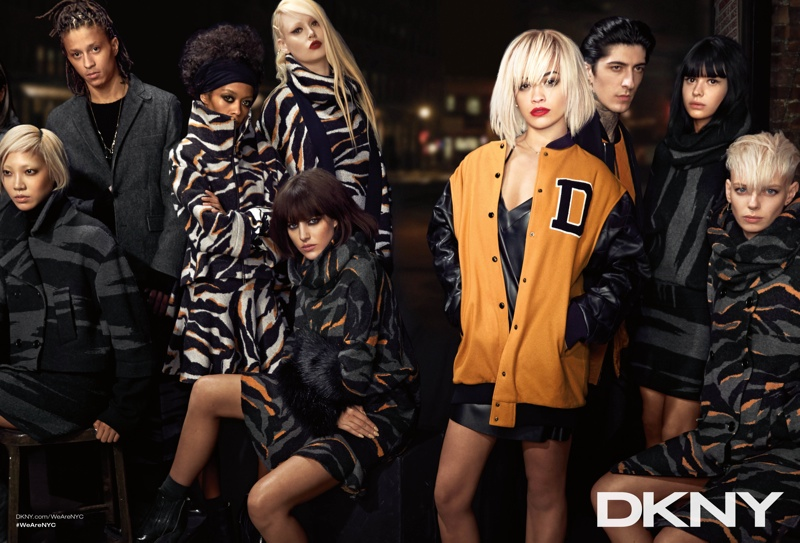 dkny 2014 fall winter campaign6 DKNY Launches New York Centric Fall Campaign Helmed by Rita Ora