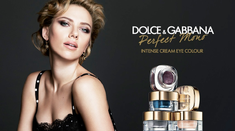 dolce gabbana perfect mono eyecream1 Scarlett Johansson Stars in Dolce & Gabbanas Perfect Mono Eyeshadow Campaign