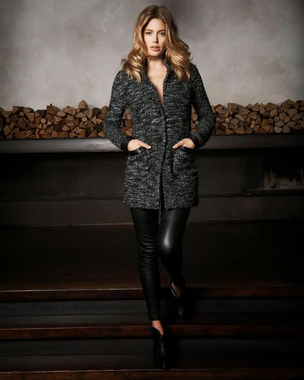 dotuzen kroes repeat cashmere 2014 fall campaign6 Doutzen Kroes Looks Comfortably Chic in Fall Ads for Repeat Cashmere