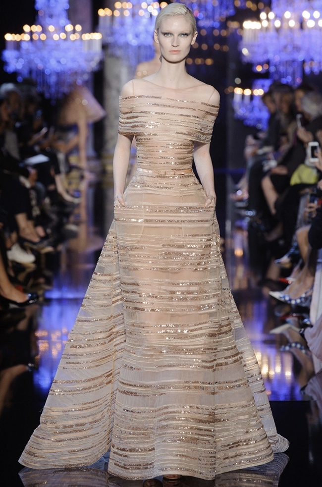 elie saab 2014 fall haute couture show23 15 Most Beautiful Couture Gowns of Fall 2014