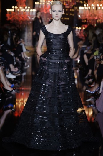Elie Saab's Fall Couture Collection is an Ode to the City of Light