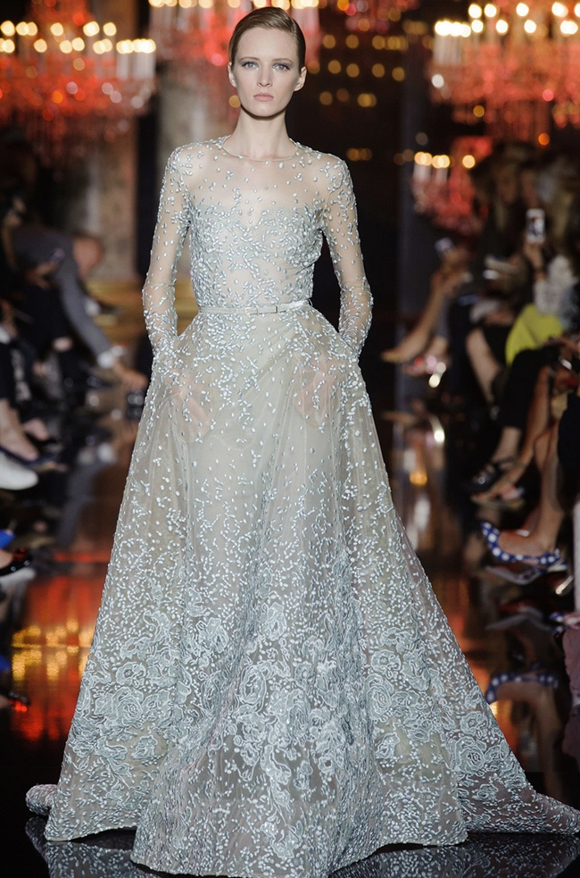 elie saab 2014 fall haute couture show49 15 Most Beautiful Couture Gowns of Fall 2014