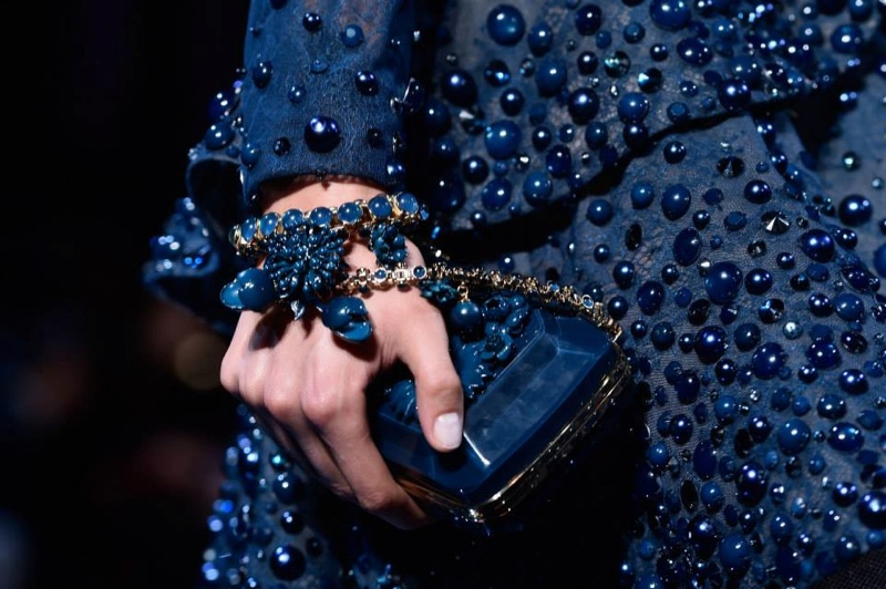 elie saab jewelry backstage 2014 4 Closer Look: Backstage + Jewelry at Elie Saabs Fall Couture Show