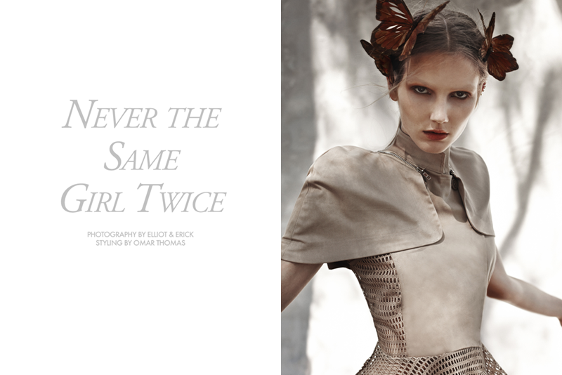 "FGR Exclusive | Olga + Natalie by Elliot & Erick in ""Never the Same Girl Twice"""