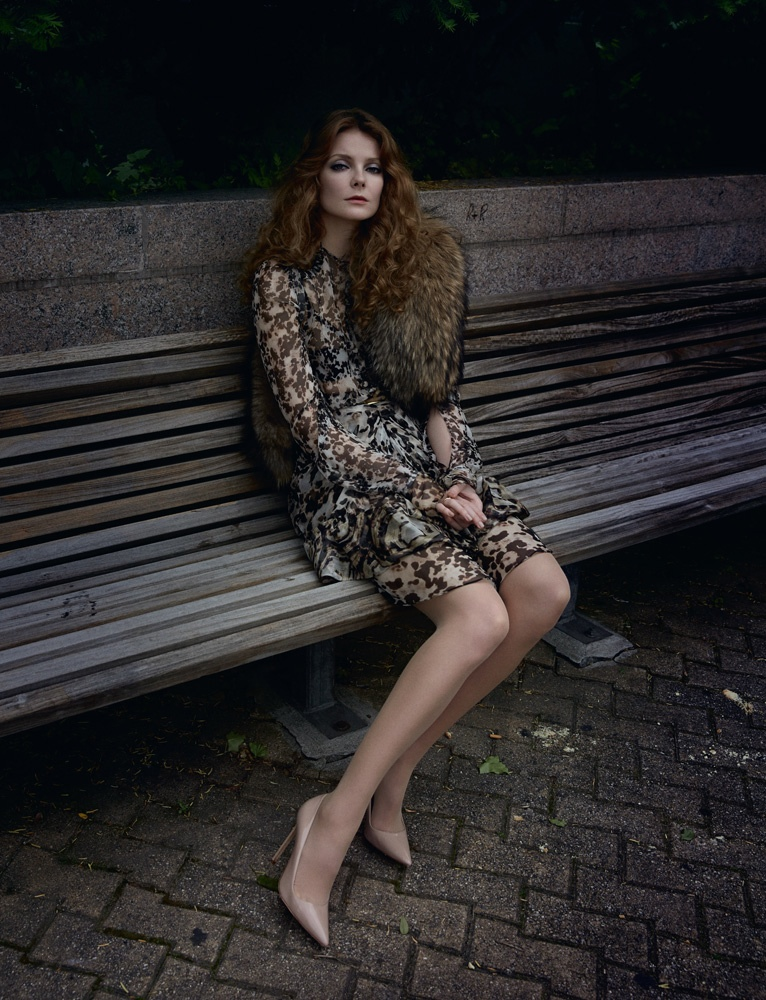eniko mihalik yelena yemchuk2 Sur les Quais: Eniko Mihalik Enchants for Yelena Yemchuk in Numéro Feature