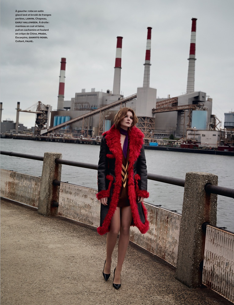 eniko mihalik yelena yemchuk5 Sur les Quais: Eniko Mihalik Enchants for Yelena Yemchuk in Numéro Feature