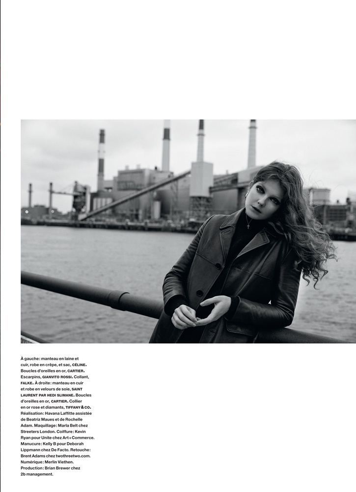 eniko mihalik yelena yemchuk9 Sur les Quais: Eniko Mihalik Enchants for Yelena Yemchuk in Numéro Feature