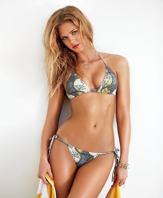 erin heatherton swimsuits 2014 3 Erin Heatherton Hits the Beach for Swimsuit Shoot in Ocean Drive