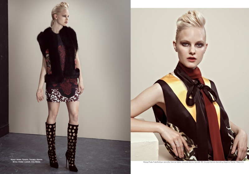fashion story iakovos2 New Fashion Story: Hannah & Nichole by Iakovos Kalaitzakis for LOfficiel Hellas